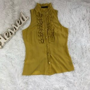 The Limited Tank top Mostard color  NWOT size M